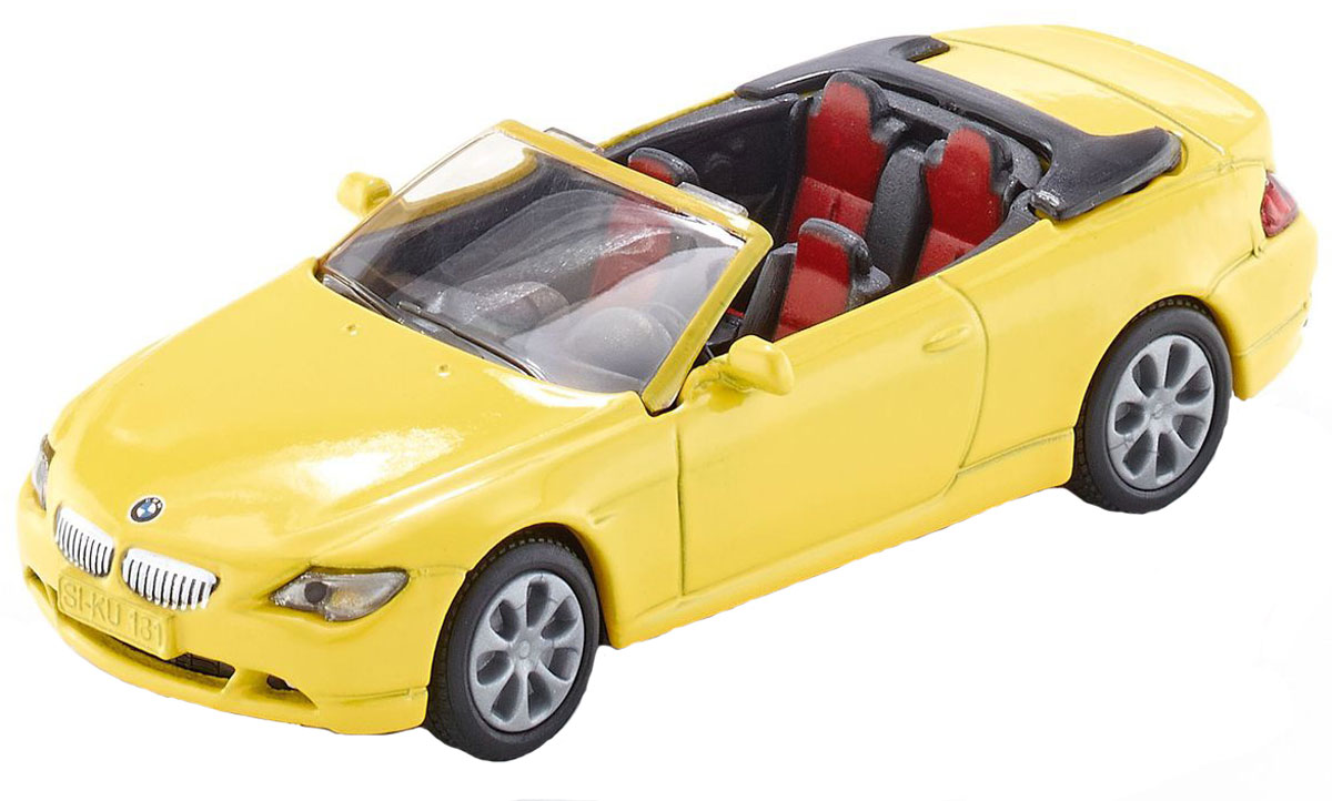 Siku Модель автомобиля BMW 645i Cabrio машины siku машина bmw 645i кабриолет 1007