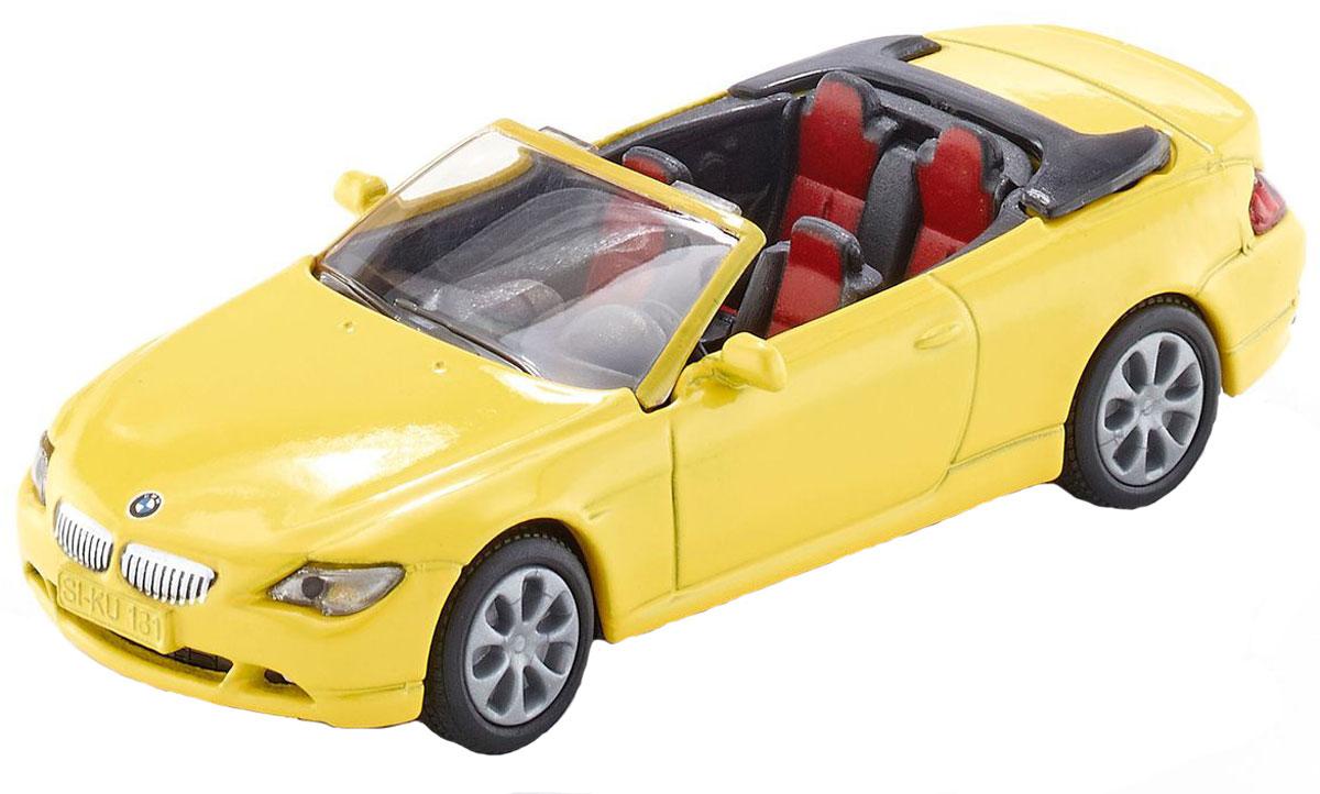 Siku Модель автомобиля BMW 645i Cabrio модель автомобиля 1 18 motormax fiat nuova 500 cabrio