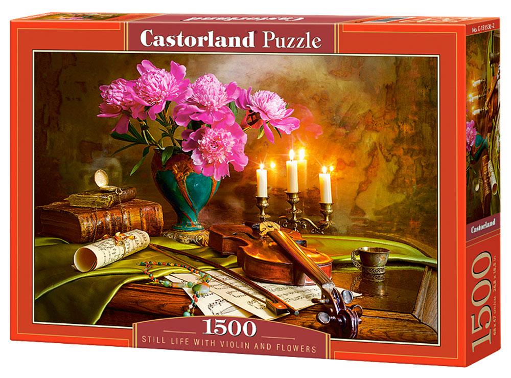 Castorland Пазл Натюрморт со скрипкой и цветами