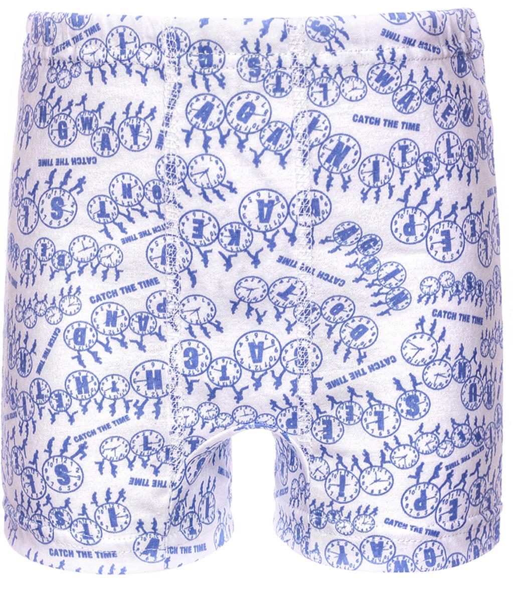 Трусы для мальчика M&D, цвет: голубой. ТМ100510. Размер 134ТМ100510Трусы выполненные из натурального хлопка, имеют широкую эластичную резинку на талии, не сдавливающую животик ребенка.