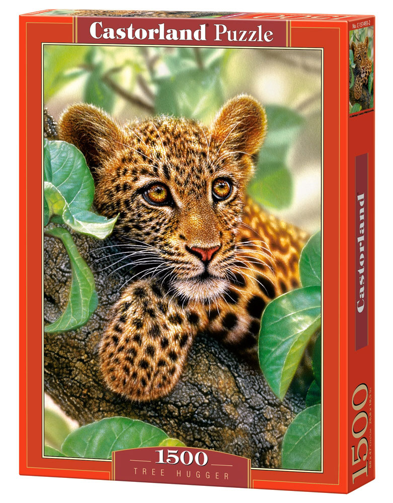Castorland Пазл Ягуар на дереве