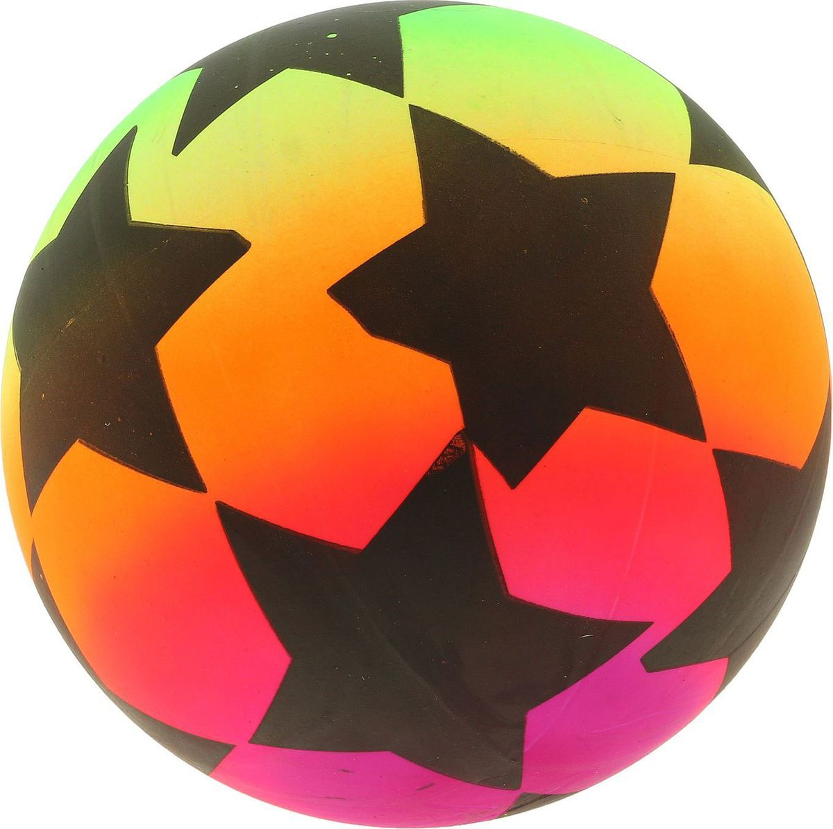 Забияка Мяч Звездочки 22 см