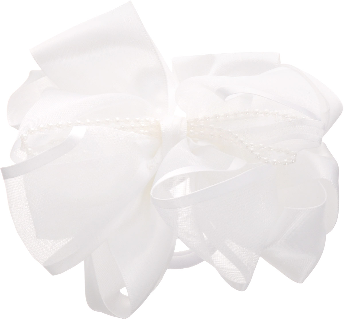 Baby's Joy Резинка для волос цвет белый с бусинами MN 203 baby s joy резинка для волос цвет белый с бусинами mn 203