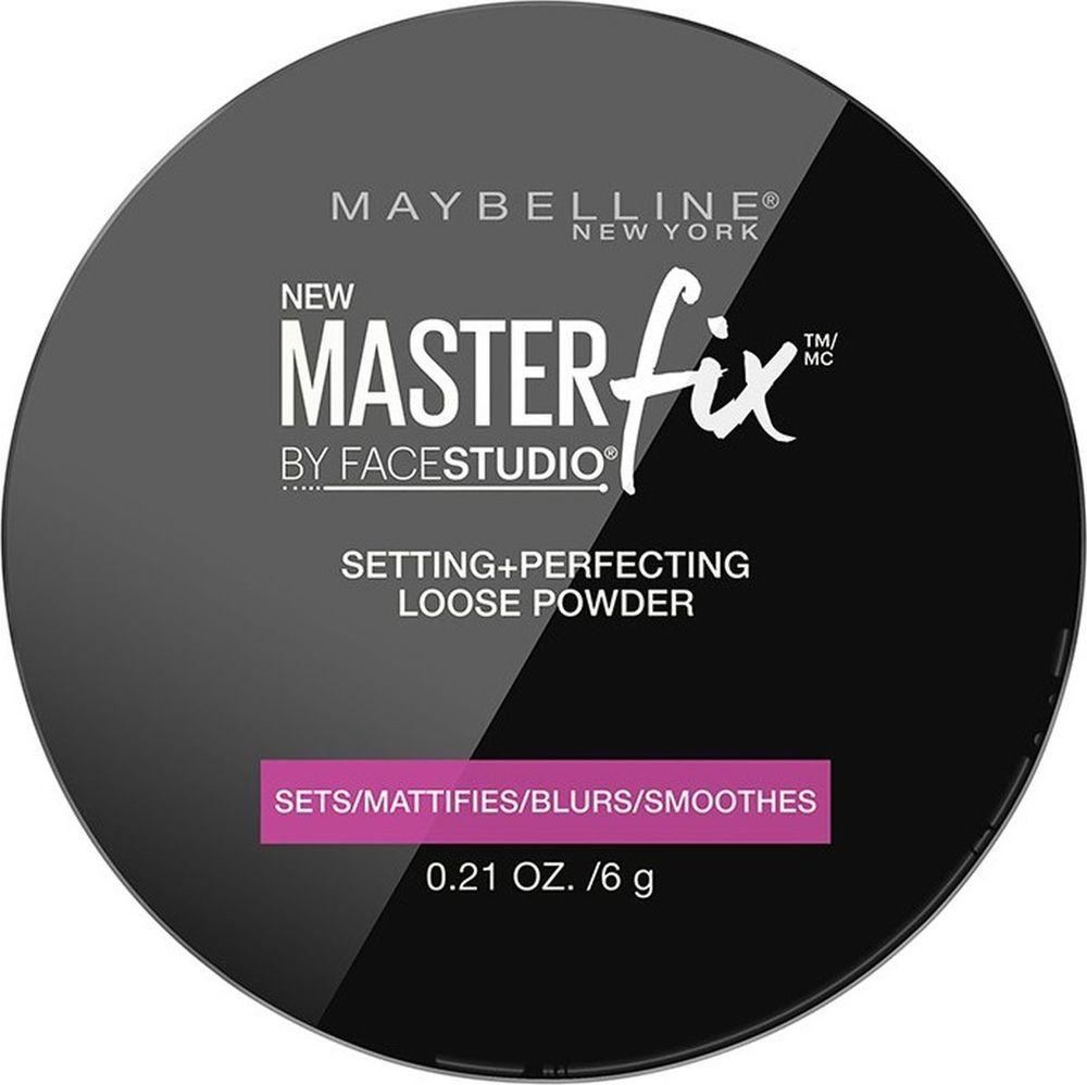 Maybelline New York Фиксирующая пудра для лица Master Fix, 6 г