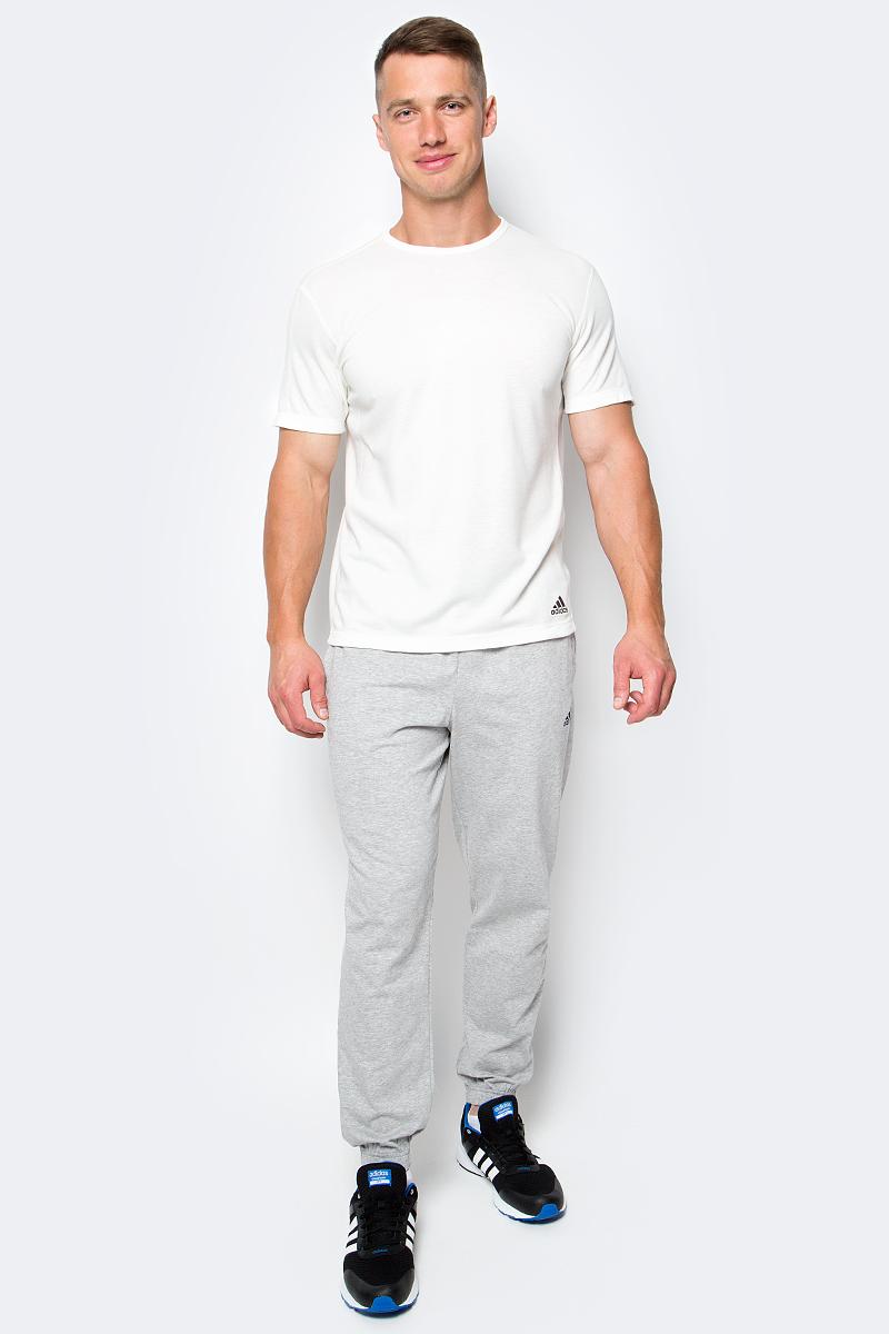Футболка мужская Adidas AP SS Nondye, цвет: молочный. M31733. Размер L (48/50)