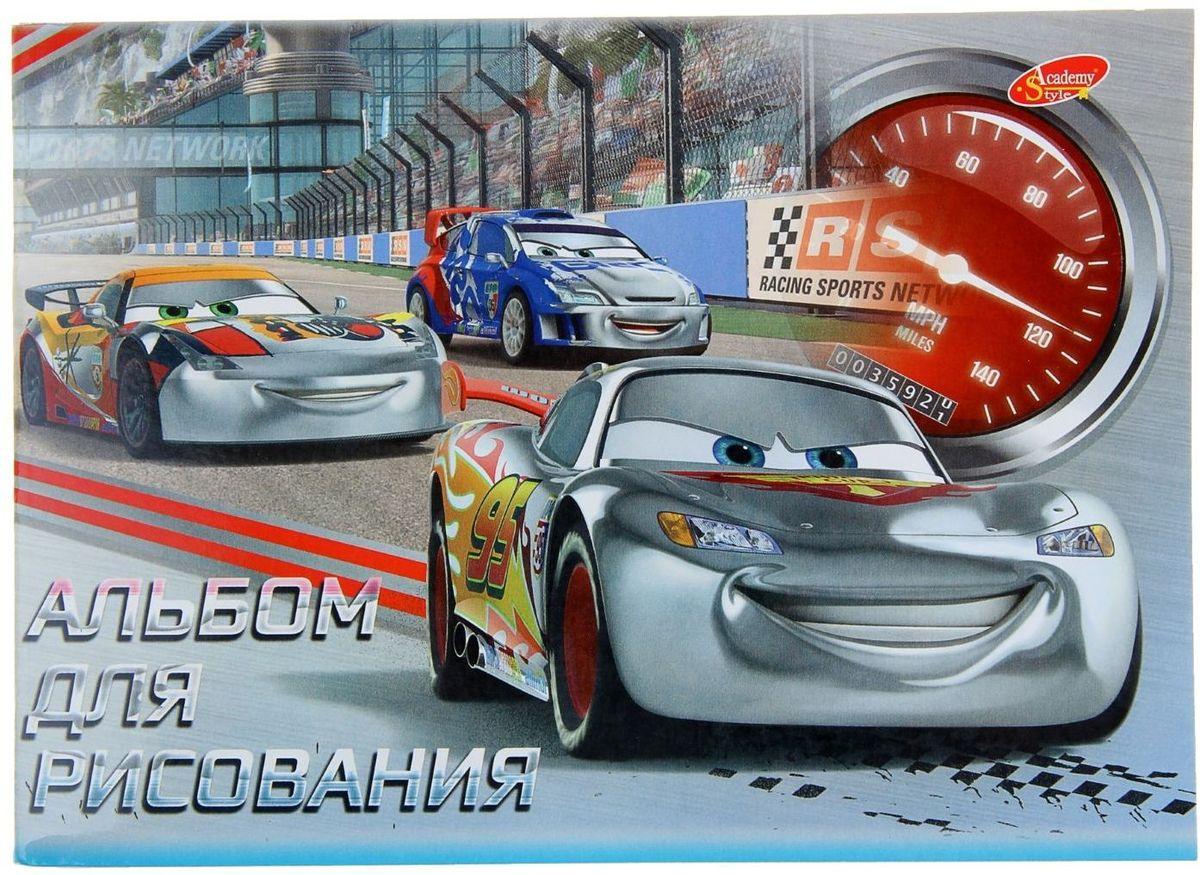 Disney Альбом для рисования Cars формат А5 40 листов наборы для рисования disney набор для рисования с фигурками и фломастерами disney тачки