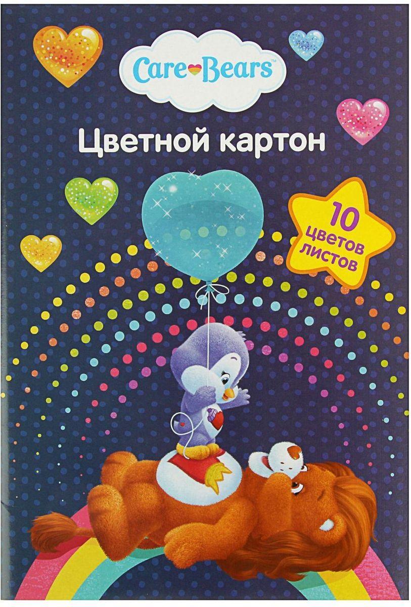 Росмэн Цветной картон Care Bears 10 листов 10 цветов2304332Цветной картон Росмэн Care Bears позволит ребенку раскрыть свой творческий потенциал.Создание поделок из цветного картона - это увлекательный процесс, способствующий развитию у ребенка фантазии и творческого мышления.Набор прекрасно подойдет для рисования, создания аппликаций, оригами, изготовления поделок из картона.