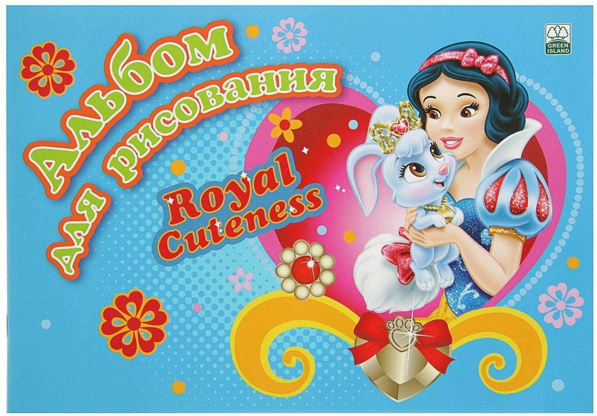 Disney Альбом для рисования Принцессы Белоснежка 8 листов наборы для рисования disney набор для рисования с фигурками и фломастерами disney тачки