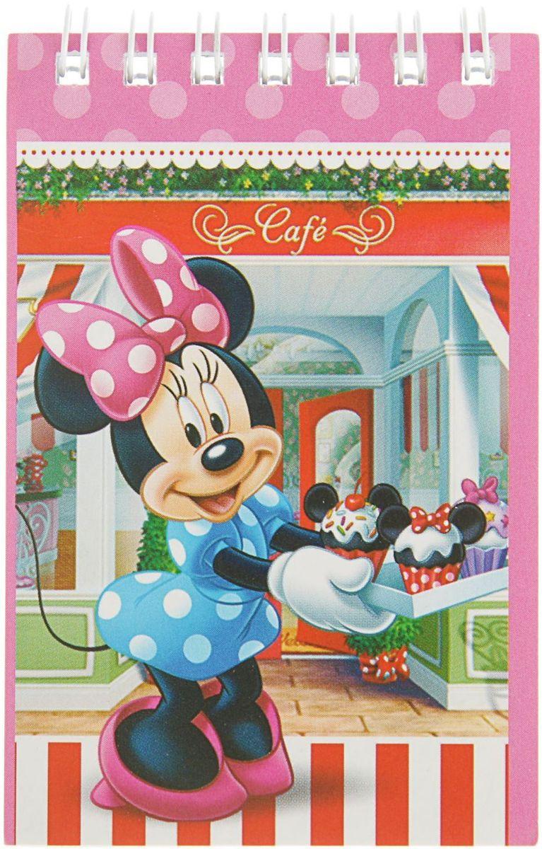 Disney Блокнот Минни Маус 40 листов2357883Блокнот с отрывными листами Disney Минни Маус, состоящий из 40 листов, предназначен для самых быстрых и смелых мальчиков! В небольшом блокноте ребенок будет делать важные заметки и писать записки своим одноклассникам!