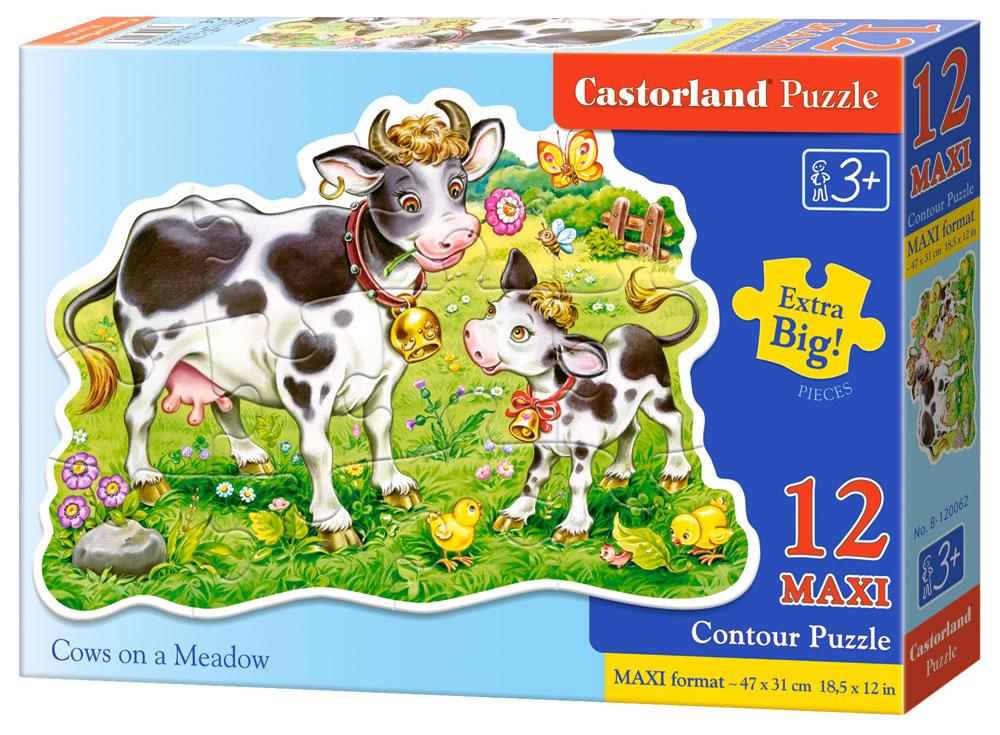 Castorland Пазл для малышей Коровки на лугу castorland пазл для малышей в аэропорту
