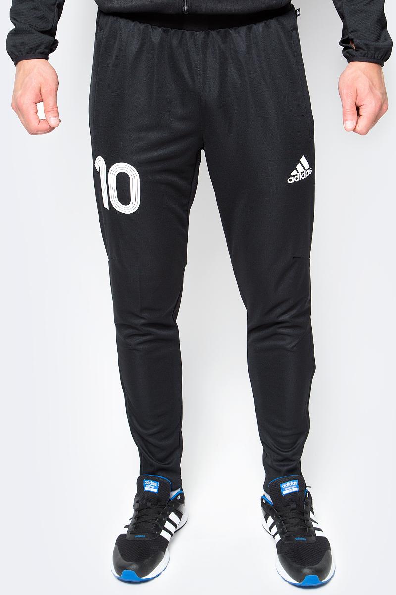 Брюки для футбола мужские adidas Tanip Trg Pnt, цвет: черный. AZ9705. Размер M (48/50) брюки adidas брюки тренировочные adidas tiro17 trg pnt bk0348