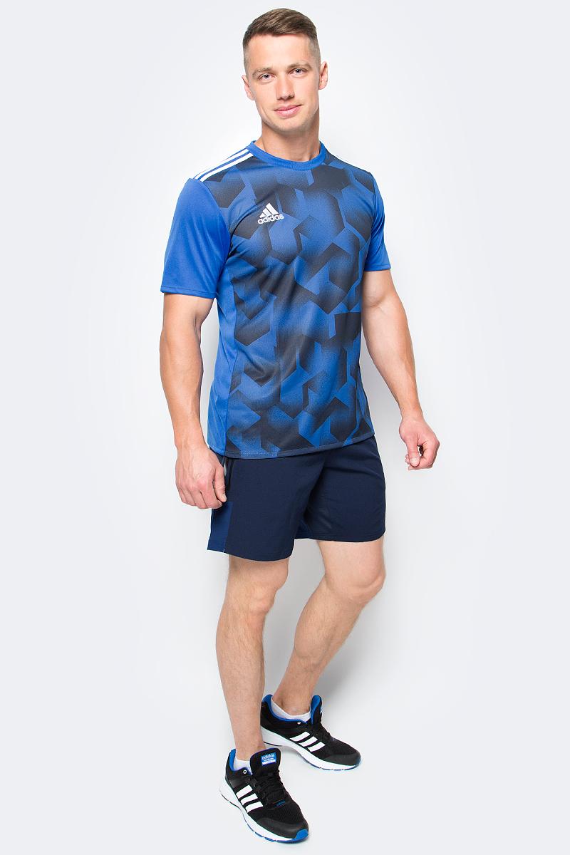 Шорты для фитнеса мужские adidas Speedbr Sh Wv, цвет: синий. BK6192. Размер XL (56/58)BK6192Мужские шорты adidas Speedbr Sh Wv выполнены из 100% полиэстера. Легкая и ультрадышащая модель с вентиляцией climacool позволяет воздуху свободно циркулировать, охлаждая тело. Эластичная ткань не сковывает движения во время приседаний и выпадов. Технология climacool сохраняет приятные ощущения прохлады и свежести благодаря специальным сетчатым вставкам.
