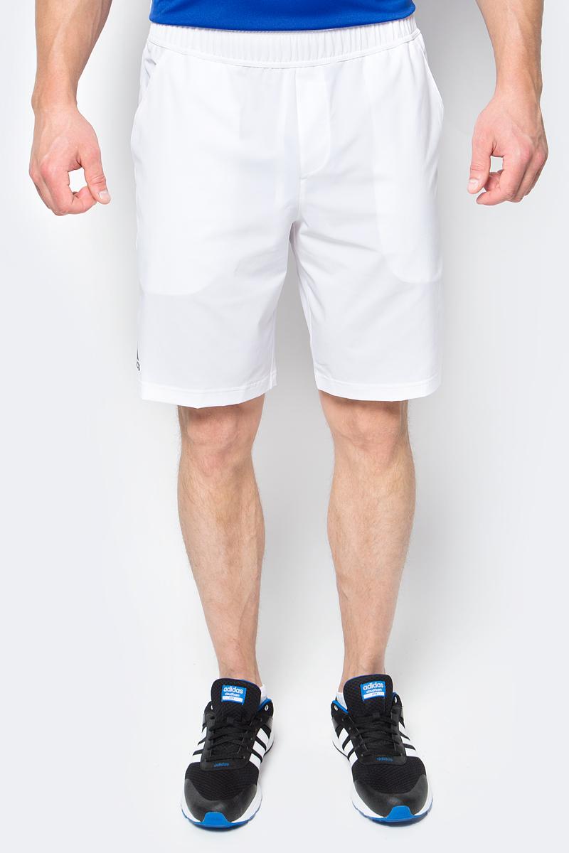 Шорты для тенниса мужские adidas Essex Short, цвет: белый. BJ8765. Размер XL (56/58)