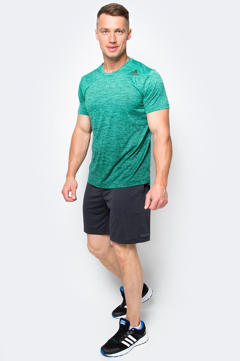 Шорты для тенниса мужские Adidas Uncontrol Climachill, цвет: черный. B45842. Размер M (48/50)B45842Мужские шорты Adidas Uncontrol Climachill - практичная и уютная модель для игры в теннис. Простой лаконичный дизайн позволит полностью сосредоточиться на тренировке. По бокам расположены карманы для мячей. Эластичный пояс надежно фиксирует шорты на талии во время активных движений. Ткань с технологией climachill обеспечивает необходимую вентиляцию, испаряя излишки влаги и тепла с поверхности кожи. Длина до колен и классический крой гарантируют комфортную посадку по фигуре не сковывая движений.