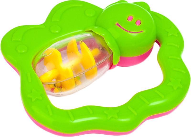 Canpol Babies Погремушка Бабочка цвет зеленый canpol babies погремушка рыбка с прорезывателем цвет зеленый