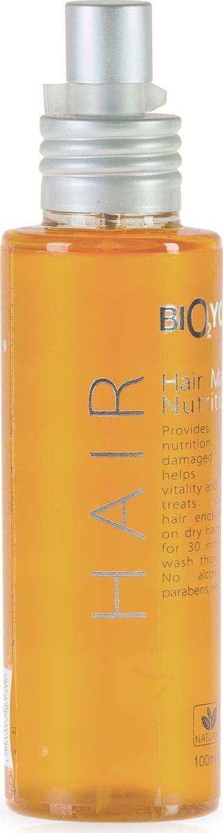 BIO2You Маска для волос с маслами, 100 мл81557382Для хрупких и поврежденных волос, увлажняет кожу головы, придает жизненную силу и блеск.
