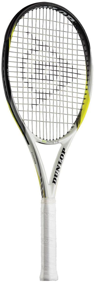 Ракетка теннисная Dunlop D TR BIOMIMETIC S5.0 LITE G3 HL. Размер 3676256Ракетка теннисная Dunlop D TR BIOMIMETIC S5.0 LITE G3 HL для профессиональных игроков.Основные характеристики: Площадь струнной поверхности: 100 кв. дюймов Вес без струн: 242 г / 8.53 унции Баланс без струн: 350 мм Длина: 27 дюймов Струнная формула: 16x19 Ширина обода: 22-25-25 мм Жесткость RA: 70 Усилие натяжения струны: 52-62 фунта/23-28 кг Материал: Premium Graphite/Biofibre Мощность: 6.5 Контроль: 7.