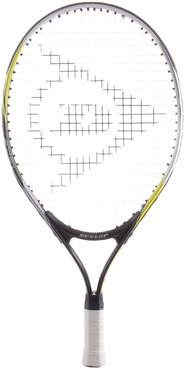 Ракетка теннисная Dunlop D TR M5.0 JUNIOR-21 G8 HQ. Размер 8676471Ракетка теннисная Dunlop D TR M5.0 JUNIOR-21 G8 HQ предназначена для начинающих игроков от 4 до 6 лет (рост 110-122 см). Основные характеристики: Площадь струнной поверхности: 95 кв. дюймовВес: 190 г / 6.7 унцииДлина: 21 дюйм Материал: O-Beam Alloy.