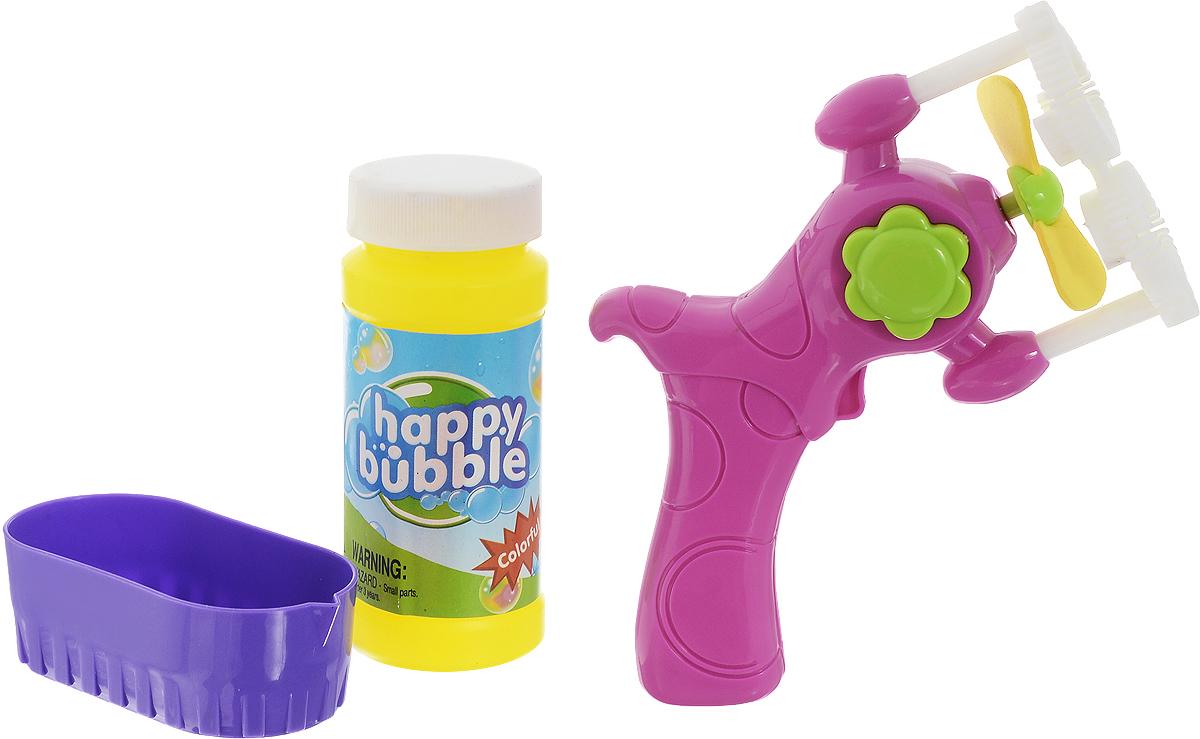 Junfa Toys Набор для пускания мыльных пузырей цвет сиреневый -  Мыльные пузыри