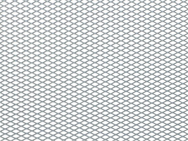 """Решетка радиатора декоративная """"DolleX"""", 100 х 30 см, ячейки 10 х 5,5 мм, цвет: серебристый"""
