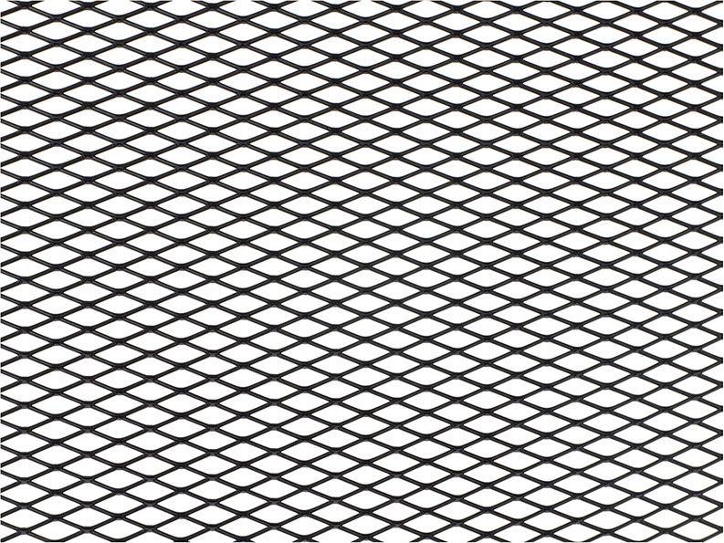 """Решетка радиатора декоративная """"DolleX"""", 100 х 40 см, ячейки 16 х 6 мм, цвет: черный"""