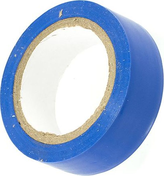 Лента изоляционная DolleX, цвет: синий, 1,9 см х 9,10 мET-1319BLUEЛента изоляционная DolleX обладает высокими клейкими свойствами.Толщина: 0,13 мм.Ширина: 1,9 см.Длина: 9,1 м.Материал: полихлорвинил.