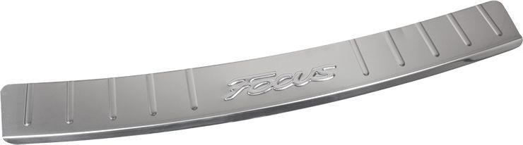 Накладка бампера декоративная DolleX, для FORD Focus 3NBI-003Придают автомобилю стильный и неповторимый вид, эффективно защищает бампер от повреждения лакокрасочного покрытия.Отличительные особенности:- Полированная нержавеющая сталь;- Толщина стали 0,5 мм.;- Стильный внешний вид;- Легкая и быстрая установка;- Крепление лента липкая двухсторонняя.