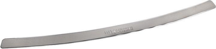 Накладка бампера декоративная DolleX, для MITSUBISHI Outlander (2007-2013)NBI-017Придают автомобилю стильный и неповторимый вид, эффективно защищает бампер от повреждения лакокрасочного покрытия. Отличительные особенности: - Полированная нержавеющая сталь; - Толщина стали 0,5 мм.; - Стильный внешний вид; - Легкая и быстрая установка; - Крепление лента липкая двухсторонняя.