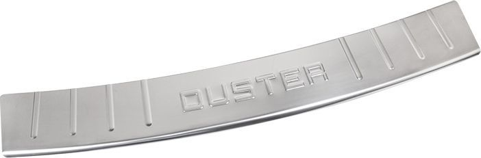 Накладка бампера декоративная DolleX, для RENAULT Duster (2011-2013)NBI-025Придают автомобилю стильный и неповторимый вид, эффективно защищает бампер от повреждения лакокрасочного покрытия.Отличительные особенности:- Полированная нержавеющая сталь;- Толщина стали 0,5 мм.;- Стильный внешний вид;- Легкая и быстрая установка;- Крепление лента липкая двухсторонняя.