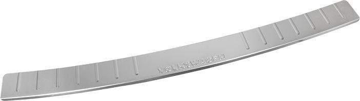 Накладка бампера декоративная DolleX, для VW T5, T6NBI-029Придают автомобилю стильный и неповторимый вид, эффективно защищает бампер от повреждения лакокрасочного покрытия.Отличительные особенности:- Полированная нержавеющая сталь;- Толщина стали 0,5 мм.;- Стильный внешний вид;- Легкая и быстрая установка;- Крепление лента липкая двухсторонняя.