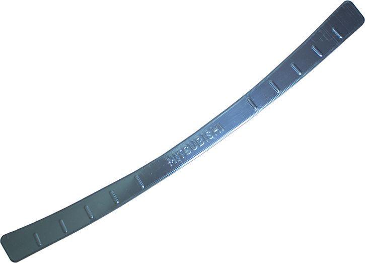 Накладка бампера декоративная DolleX, для MITSUBISHI ASX (2013->)NBI-047Придают автомобилю стильный и неповторимый вид, эффективно защищает бампер от повреждения лакокрасочного покрытия. Отличительные особенности: - Полированная нержавеющая сталь; - Толщина стали 0,5 мм.; - Стильный внешний вид; - Легкая и быстрая установка; - Крепление лента липкая двухсторонняя.