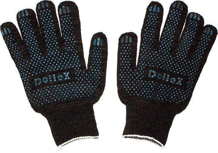 Перчатки защитные DolleX, с ПВХ, цвет: черный, 1 параPVX-02Размер: 22 Класс вязки: 10 (10 петель на дюйм)Вес: 50 граммСостав: 85% хлопка, 15% полиэфирной нити, ПВХ — изготовлены из качественного сырья— износостойкие— отлично впитывают влагу— не жаркие, рука не потеет— не скользкие— отлично сидят на руке— дешевле аналогов