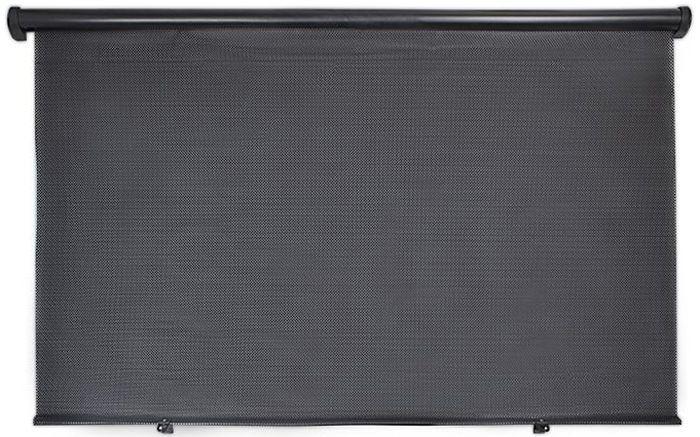 Шторка на заднее стекло DolleX, цвет: черный, 100 x 57 см тизерная сеть эквалайзер на заднее стекло