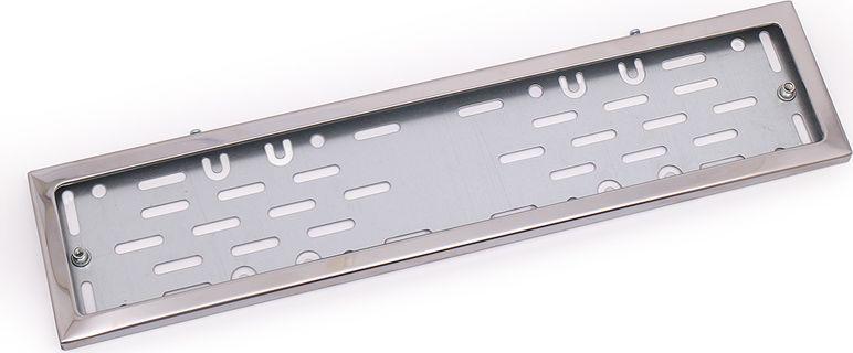 Рамка номерного знака DolleX, с адаптером в сборе. SPL-25SPL-25Рамка номерного знака DolleX идеально подойдет вашему автомобилю. Особенности рамки:Толщина стали: 0,5 мм;Прочное полимерное покрытие;Антивандальная и долговечная; Адаптирована под номерной знак РФ; Адаптер из оцинкованной стали с виброизоляторами в комплекте.