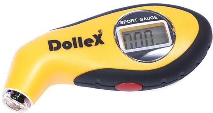 Манометр шинный DolleX, цифровой, с подсветкой, 7 АтмМSС-20Манометр автомобильный цифровой DolleX предназначен для измерения и контроля давления в шинах. - Удобное и легкое применение. - Автоматическое отключение. - Прочный противоударный пластик.Характеристики изделия:ЖК дисплей; Диапазон измерения: 0-100 psi/0-7.0 Bar/0-7.0 kg/cm/ 0-700 kpa; Питание: 3V, CR2032; Рабочая температура: 0С до 40C; Погрешность прибора: +/- 0,5 psi / 0,05 Bar/ 0,05 kg/cm/ 5 kpa.