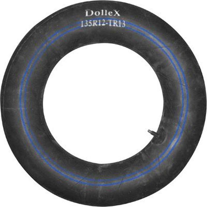 Камера для колеса DolleX, R12х135 TR-13135R12-TR-13Автомобильная камера DolleX R12 подходит на автомобили семейства Ока, Daewoo, Peugeot,Chevrolet и т.д. Типоразмеры шин, на которые подходит данная камера, имеют следующие обозначения:135/80R12.