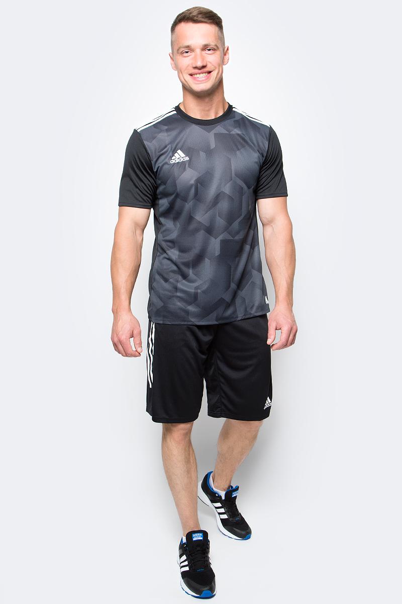 Шорты футбольные мужские adidas Tanf Shorts, цвет: черный. S96936. Размер L (52/54)S96936Шорты футбольные мужские adidas Tanf Shorts выполнены из 100% полиэстера. Прекрасно подходят для интенсивных тренировок.