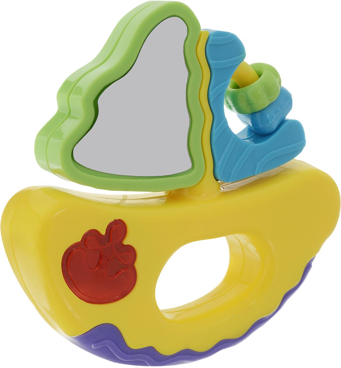 Mommy Love Развивающая игрушка Веселое путешествие Кораблик цвет желтый фиолетовый конструкторы mommy love мягкий конструктор