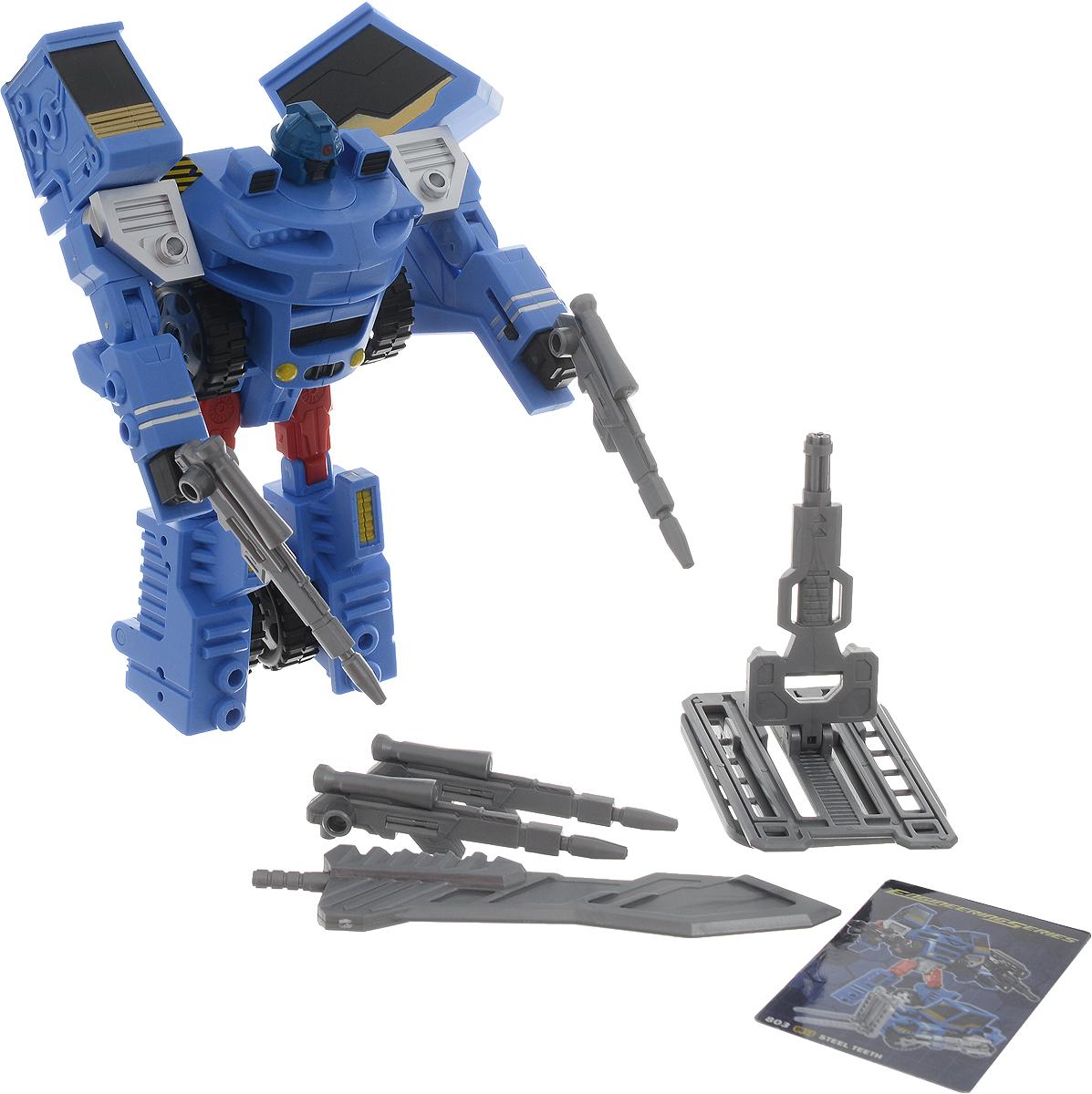 Склад уникальных товаров Робот-трансформер Погрузчик с Пушкой XXL