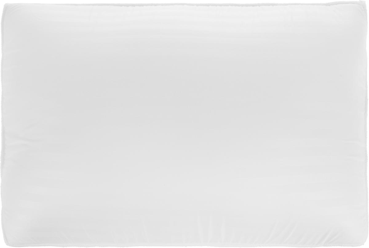 Подушка ортопедическая MagicSleep  Мелоди , с эффектом памяти, наполнитель: вязкоэластичная пена, цвет: белый, 35 х 50 х 12 см - Ортопедические товары