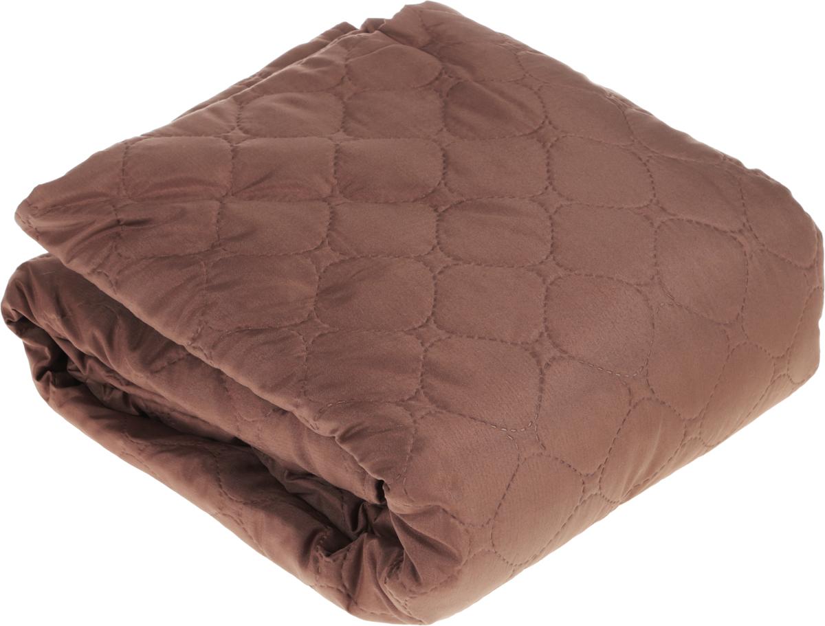 Чехол на трехместный диван Медежда Йорк, широкий, цвет: шоколадный1404121211000Чехол на трехместный диван Медежда Йорк изготовлен из качественного материала на основе хлопка и полиэстера.Чехол легко растягивается, хорошо принимает форму дивана и подходит для большинства стандартных диванов с шириной спинки 200 см. За счет специальных фиксаторов чехол прочно держится на мебели, не съезжает и не соскальзывает.Стеганая накидка коллекции Йорк идеально подходит для создания комфорта и уюта в повседневной жизни. Это стильное решение, которое защищает вашу мебель от шерсти домашних животных, пятен и износа.