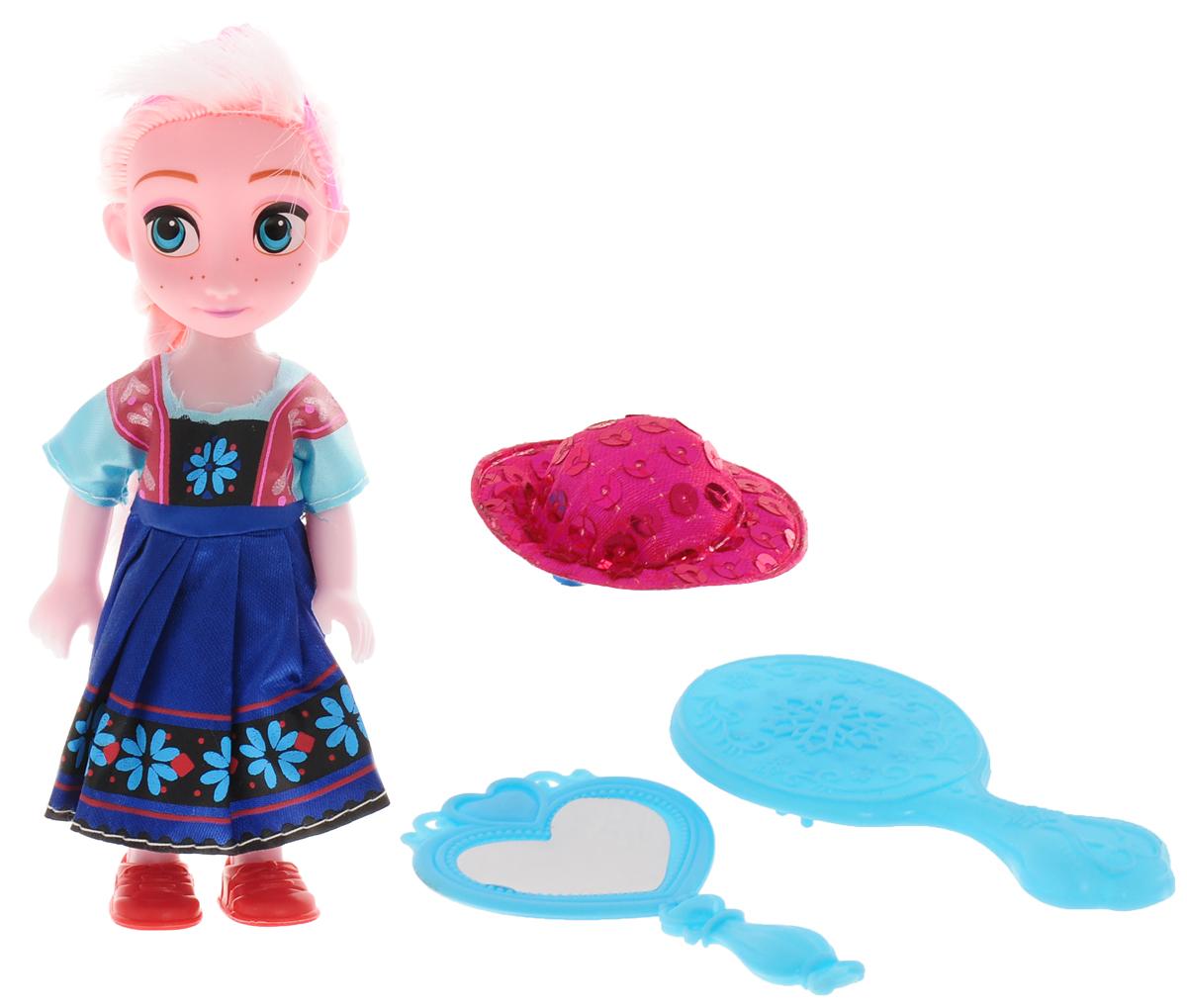 Город игр Мини-кукла Элис с аксессуарами ваша шляпка берет