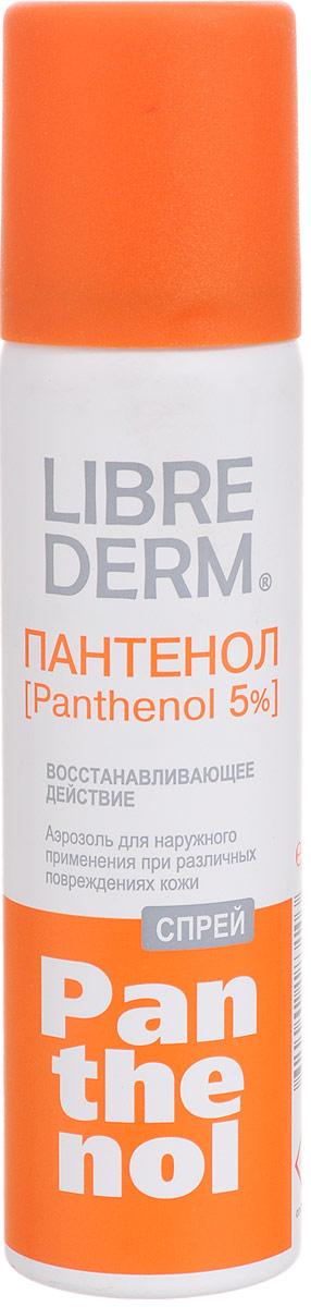 Librederm Спрей Пантенол 5 %, восстанавливающий, 58 г8519