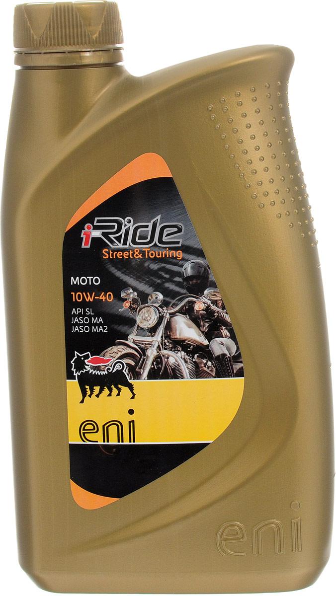 Масло моторное Eni i-Ride moto, полусинтетическое, 10W-40, 1 лEniiRidemoto10w401Высококачественное все сезонное полусинтетическое моторное масло Eni i-Ride moto специально разработано для мотоциклов с четырехтактными двигателями. Масло демонстрирует великолепные эксплуатационные характеристики даже при очень тяжелых условиях работы двигателя. Уважаемые клиенты!Обращаем ваше внимание на возможные изменения в дизайне упаковки. Качественные характеристики товара остаются неизменными. Поставка осуществляется в зависимости от наличия на складе.