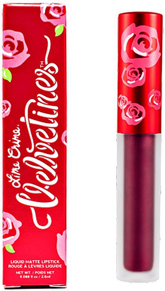 Lime Crime Помада для губ матовая Velvetines Raisin Hell, 2,6 мл жидкая помада lime crime lipstick velvetines liquid metallic raising hell цвет raising hell variant hex name 5e012b