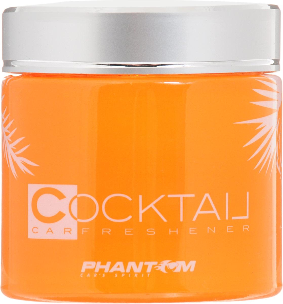 Ароматизатор Tangerine Cocktail, цвет: оранжевый. РН31393139Ароматизатор с запахом мандарина создает приятный, свежий аромат в салоне автомобиля, дома и офисе. Современные технологии изготовления, а также ароматические композиции обеспечивают устойчивый аромат длительное время.Инновационный дизайн - выполнен в оранжевом цвете. Корпус ароматизатора выполнен из высококачественного стекла, а крышка изготовлена из метализированного пластика. Характеристики:Диаметр освежителя: 5 см. Высота освежителя: 6 см. Срок действия: 50 дней. Материал: стекло, пластик, ароматическая отдушка. Размер упаковки: 6,5 см х 6,5 см х 7,5 см. Артикул:РН3139.