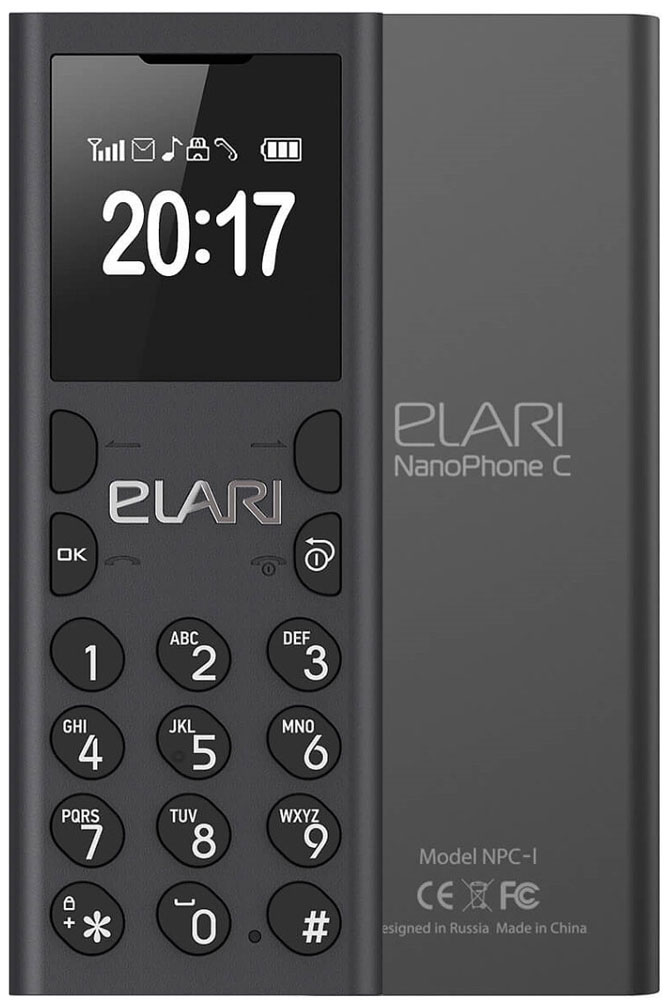 Elari NanoPhone C, Black