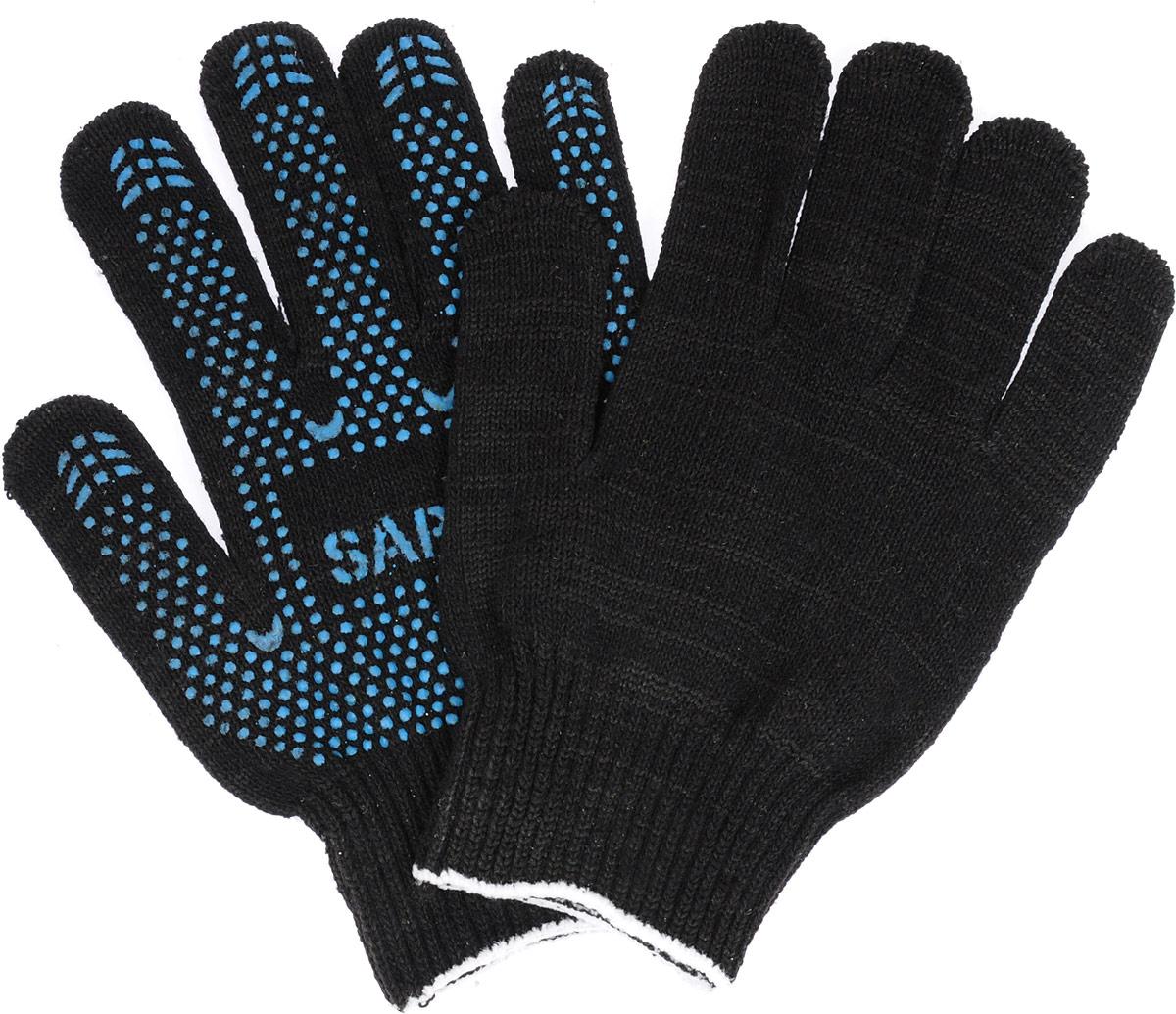 Перчатки Sapfire СтандартACM-1008Перчатки Sapfire Стандарт характеризуются плотностью вязки и совокупной толщиной хлопчатобумажной и смесовой нити. Благодаря полимерному покрытию обеспечивается дополнительная стойкость к истиранию и защита от скольжения. Манжеты на резинке плотно обхватывают запястья. Мягкие перчатки удобно сидят по руке, не соскальзывая и не отвлекая от работы. Уважаемые клиенты! Обращаем ваше внимание на возможные изменения в цвете некоторых деталей товара. Поставка осуществляется в зависимости от наличия на складе.