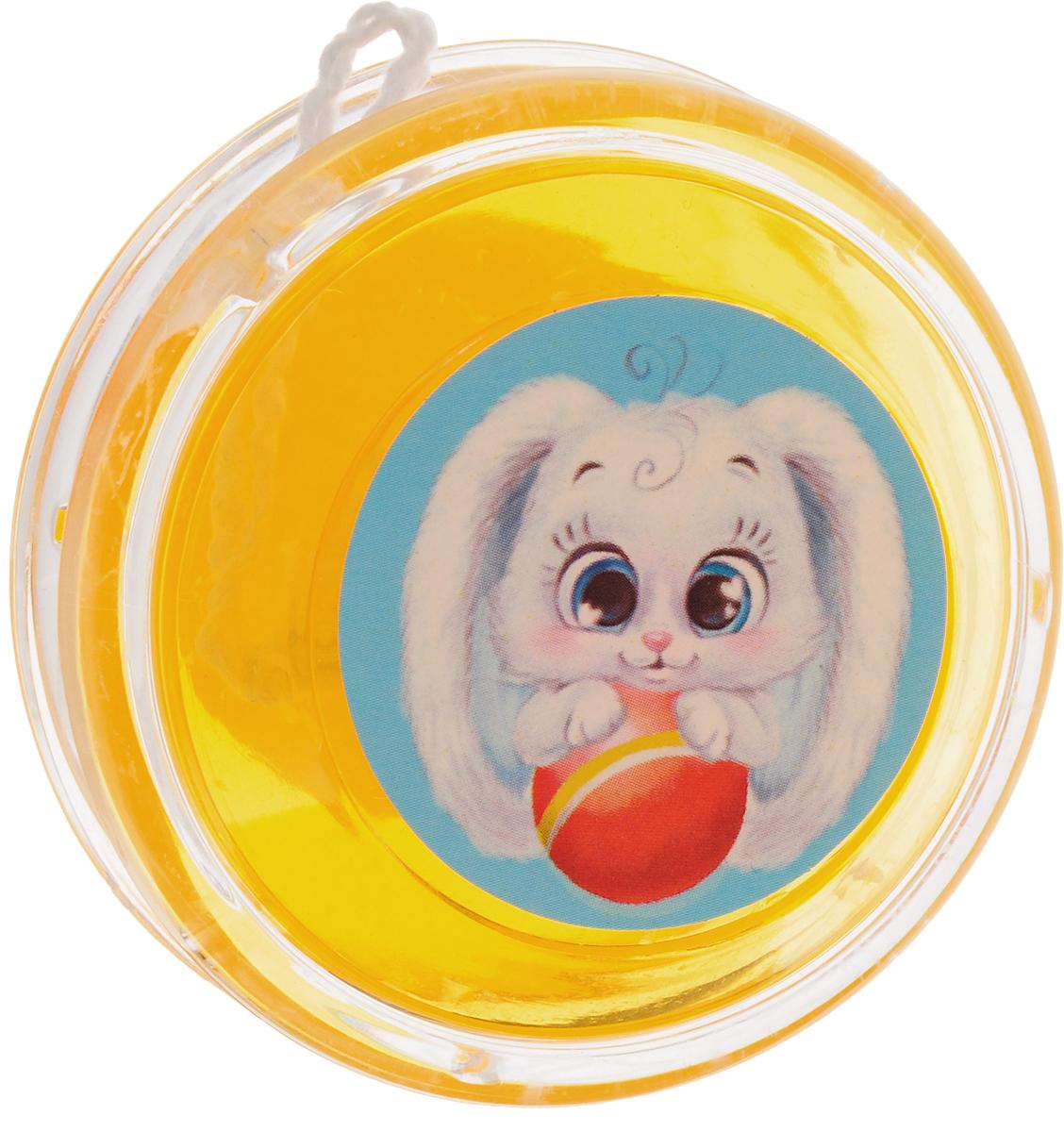 Sima-land Йо-йо Зайчик цвет желтый sima land антистрессовая игрушка пружинка радуга мышка