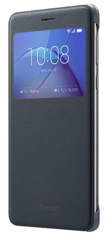 Huawei Smart Cover чехол для Honor 6X, Grey51991742Чехол Huawei Smart Cover из искусственной кожи создан специально для смартфона Honor 6X. Он идеально повторяет контуры устройства и обеспечивает ему надежную защиту при падениях. Чехол приятен на ощупь, не скользит в руках и не утяжеляет конструкцию: с ним смартфон сохранит внешний вид и будет защищен от сколов и царапин.
